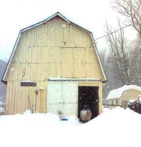 barn-winter